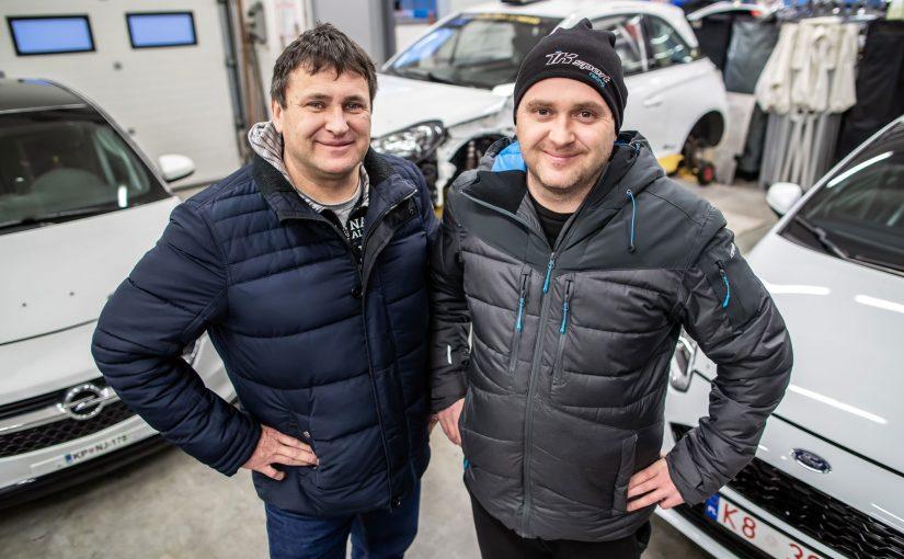 026 – Miran in Igor Kacin ter nov dirkalnik v ekipi IK Sport