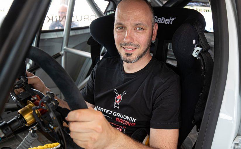 033 – Matej Grudnik in razvoj dirkalnika razreda E1 za gorsko hitrostne dirke