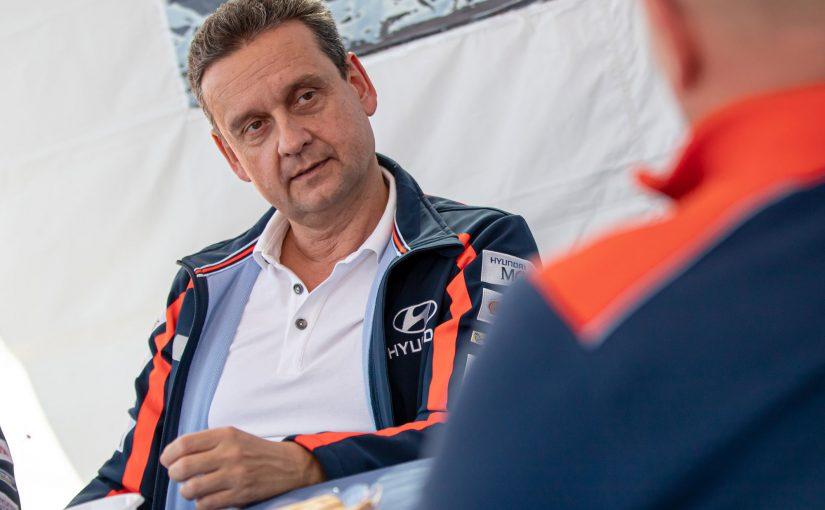 035 – Marko Kajfež in Hyundai Slovenija v rallyju